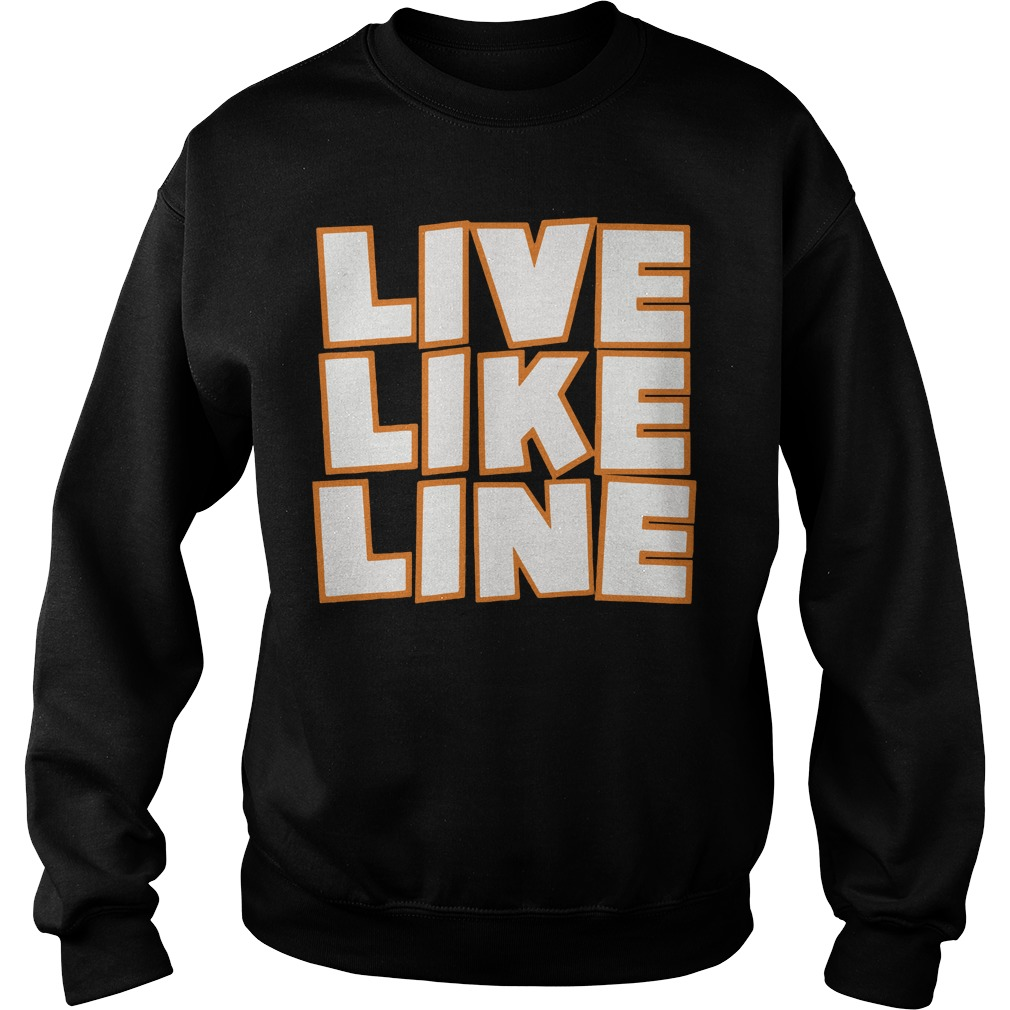 Live Like Line Volleyball Sweater