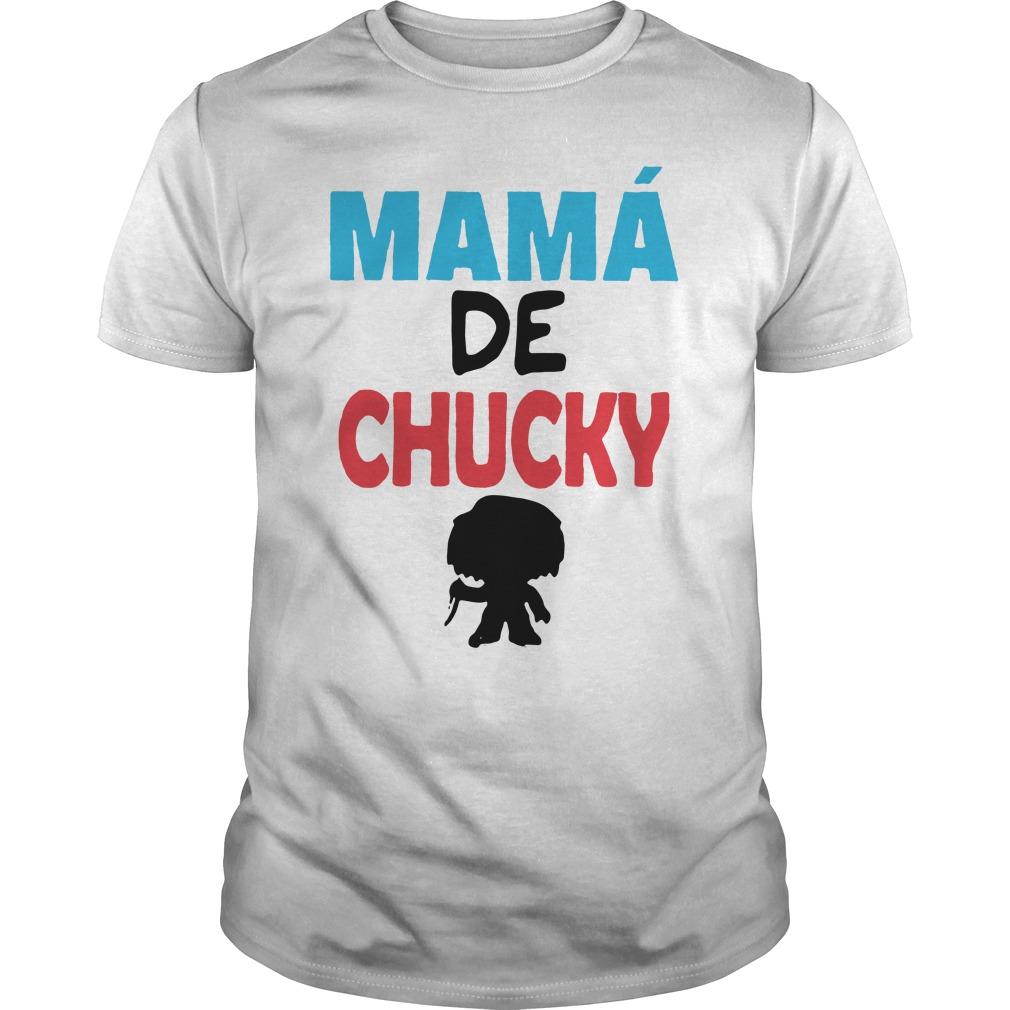 Mamá de Chucky Guys Shirt