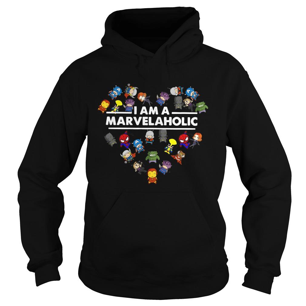 Marvelaholic Shirt Marvel Hoodie