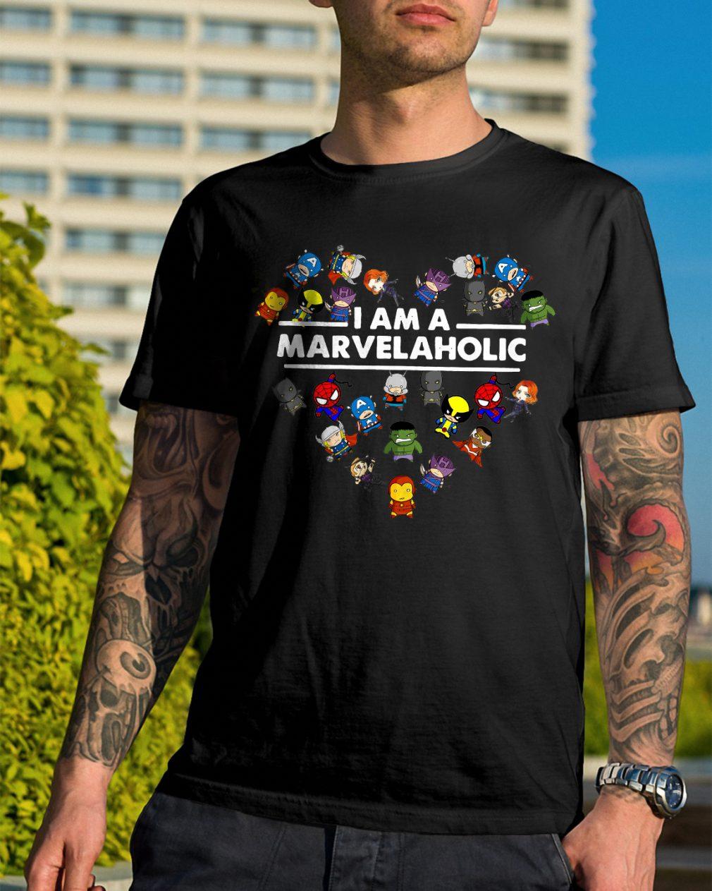 Marvelaholic Shirt Marvel Shirt
