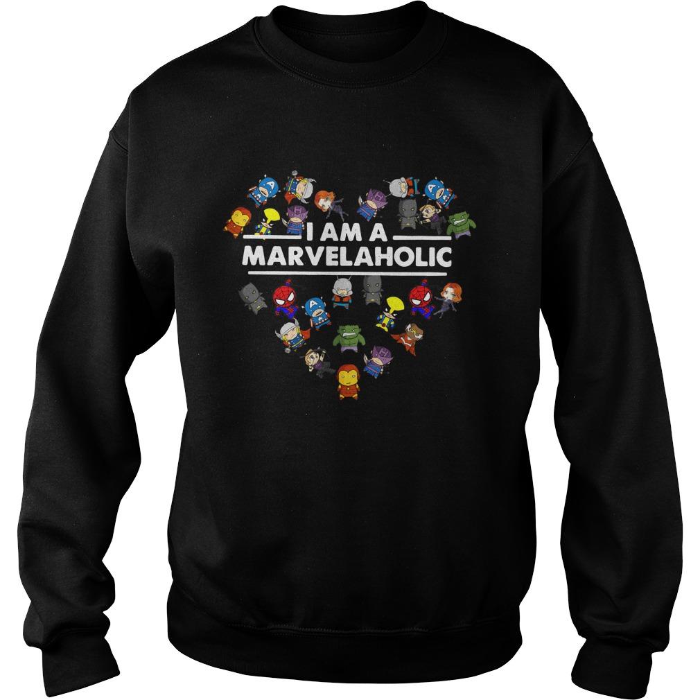 Marvelaholic Shirt Marvel Sweater