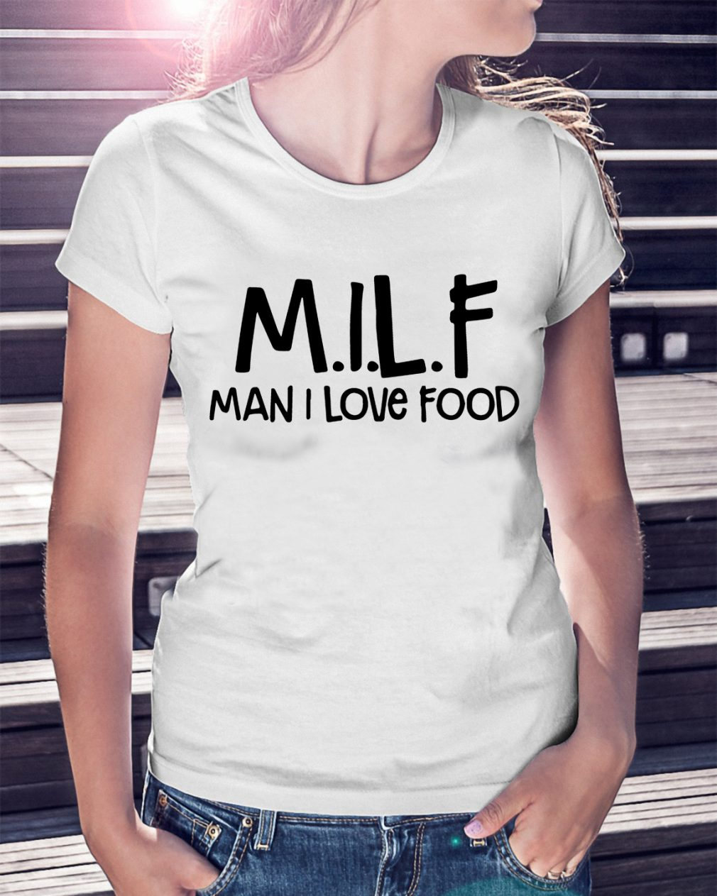 Milf Man Love Food Shirt