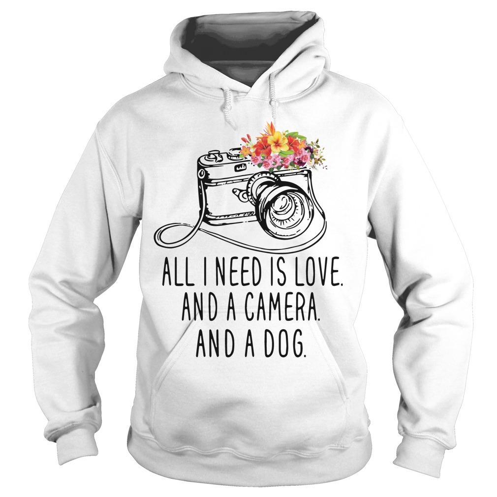 Need Love Camera Dog Hoodie