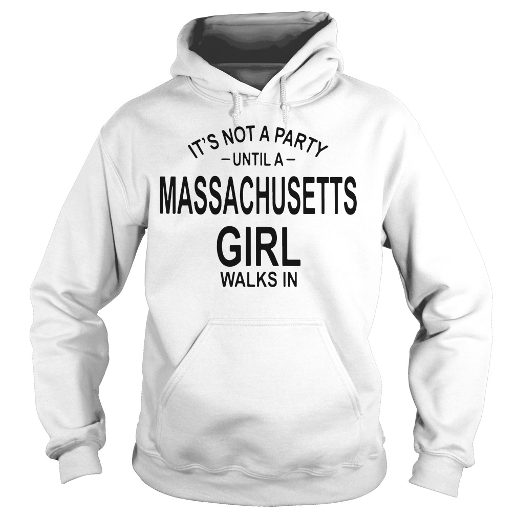 Not Party Massachusetts Girl Walks Hoodie
