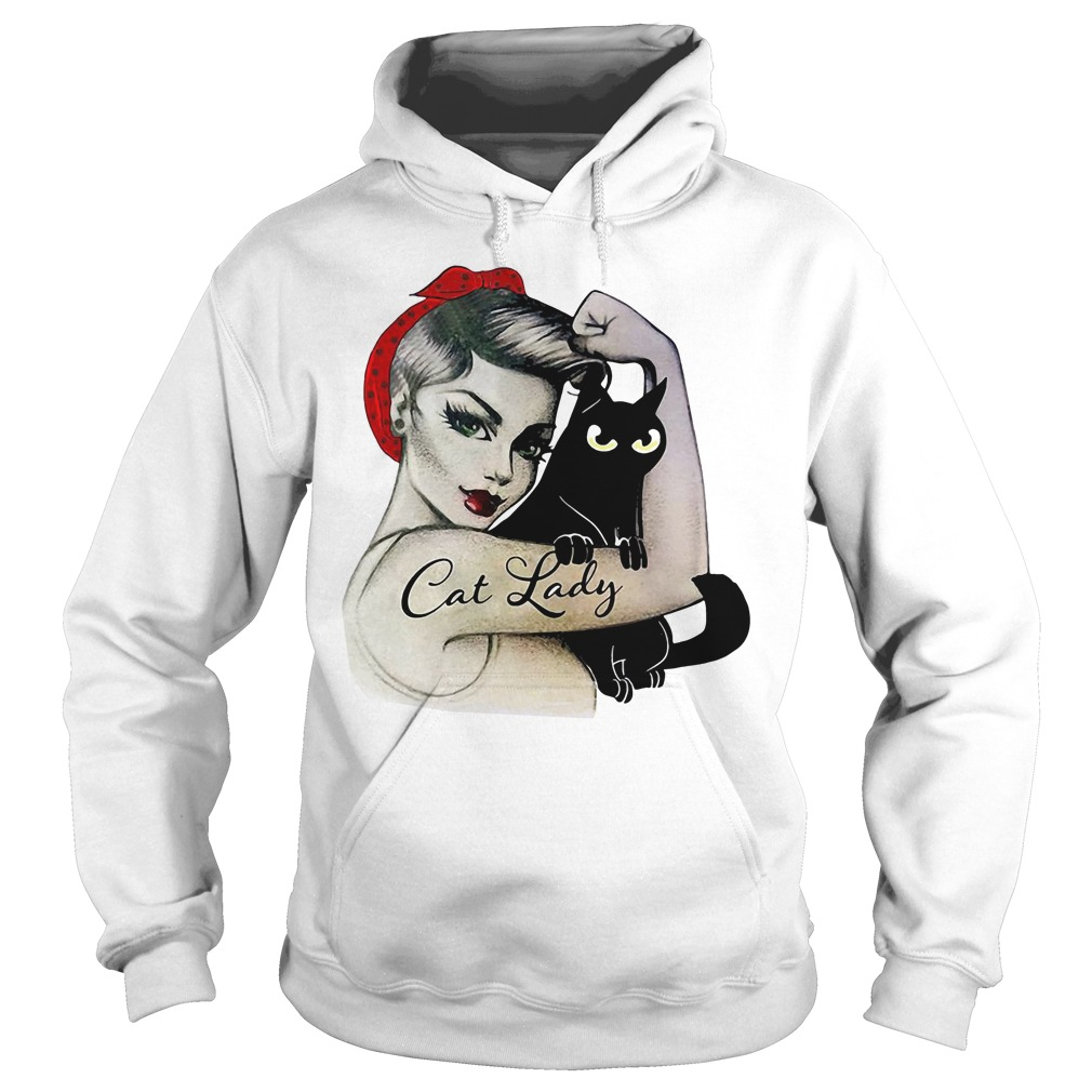 Official Cat lady girl Hoodie