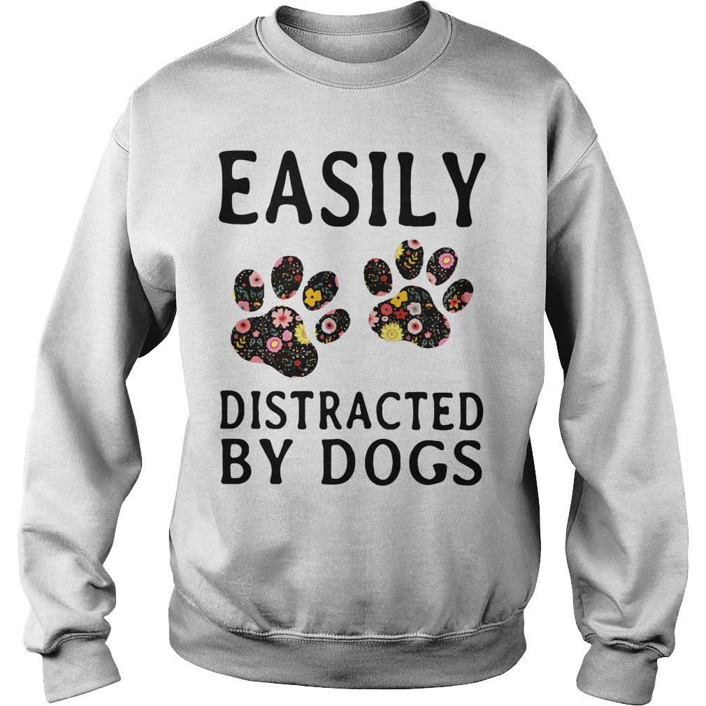 Official Easily Distracted By Dogs Sweater
