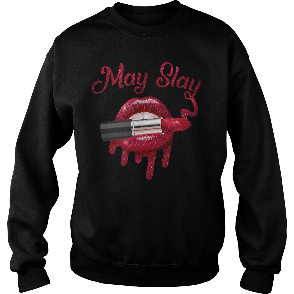 Official May Slay Sweater
