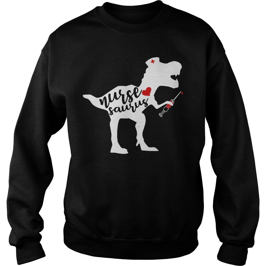 Official Nurse saurus Sweater