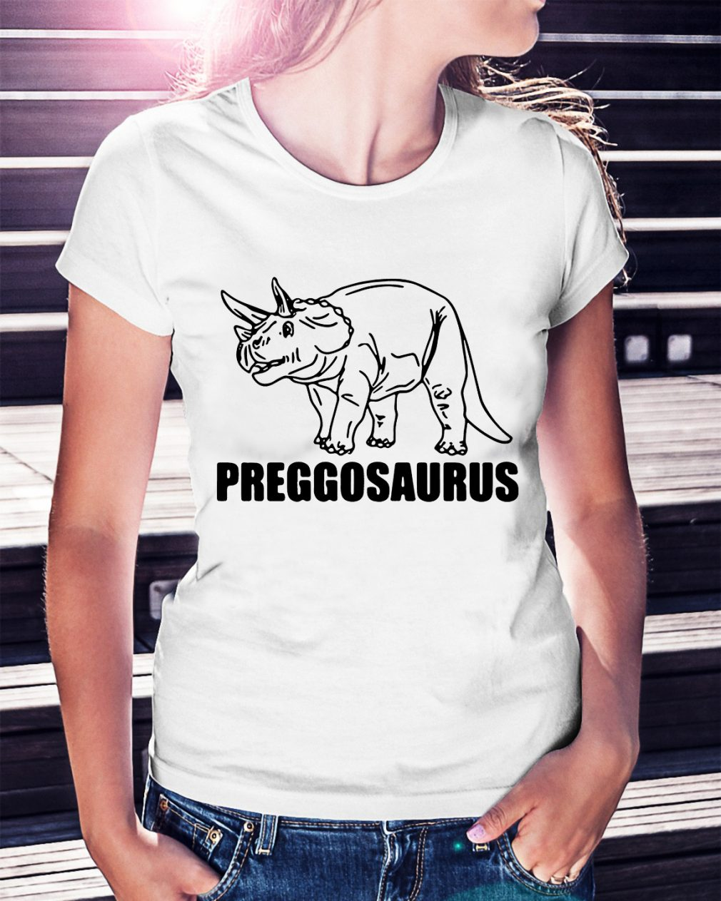 Official Preggosaurus shirt