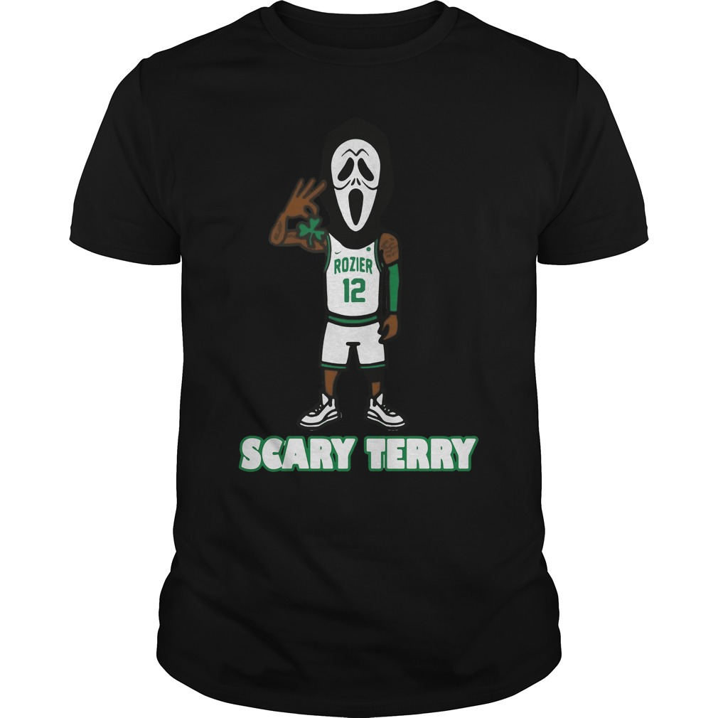 Official Scary Terry Rozier Guys Shirt