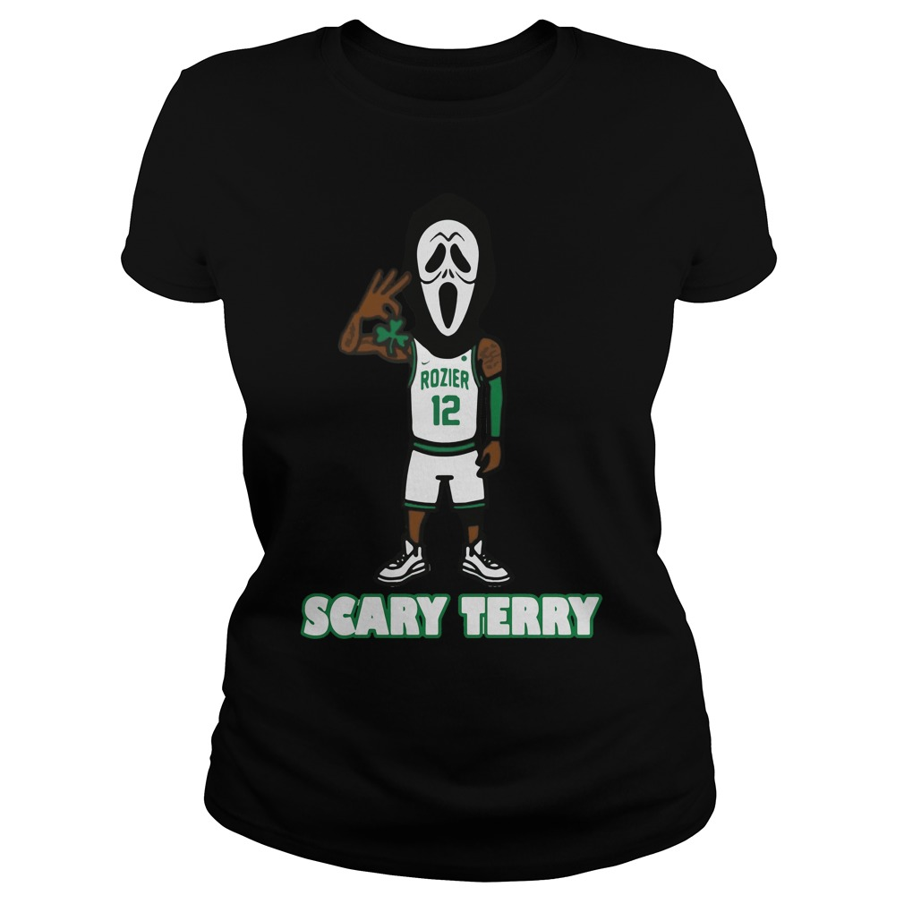 Official Scary Terry Rozier Ladies Tee