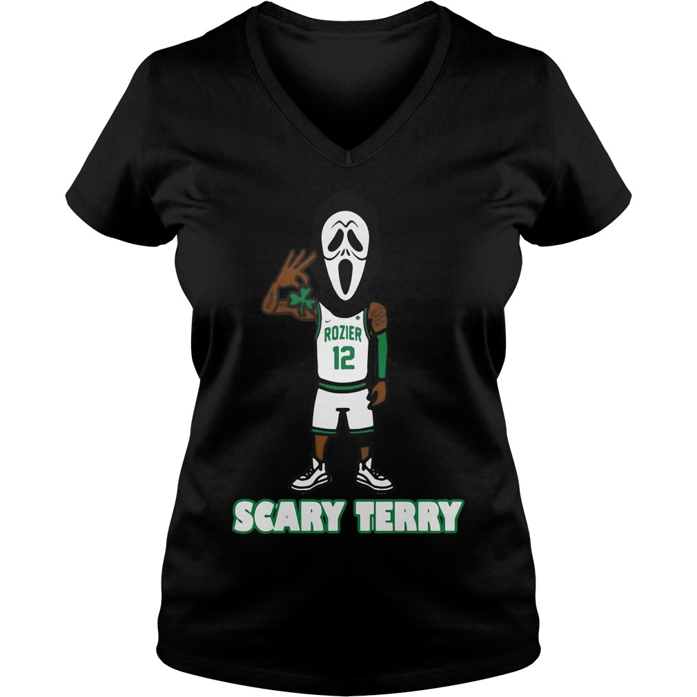 Official Scary Terry Rozier V-neck T-shirt