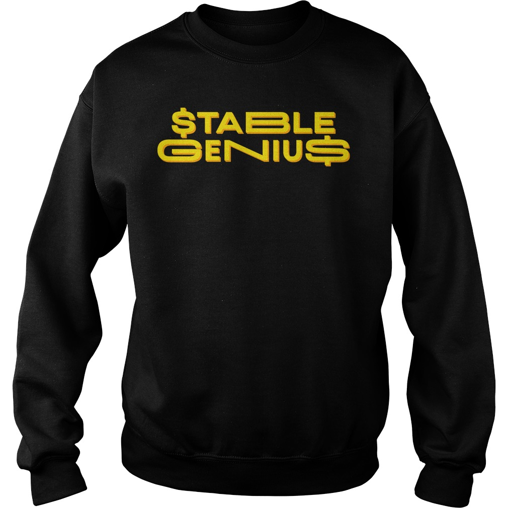 Official Stable Genius Sweater