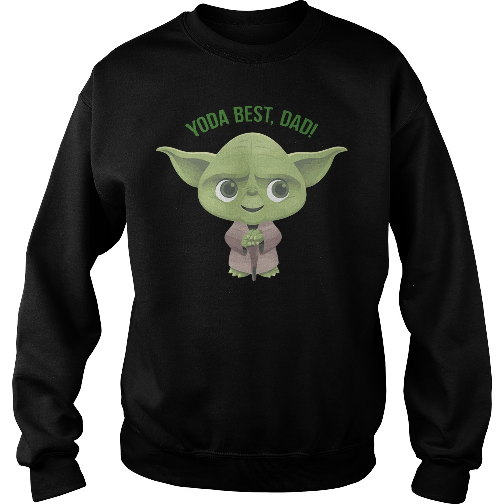 Official Star Wars Yoda best dad Sweater