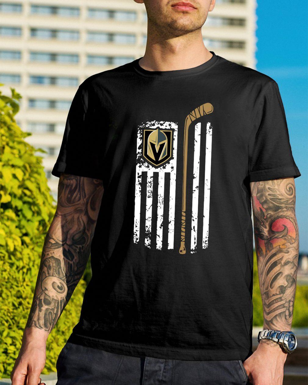 Official The flag Golden Knight shirt