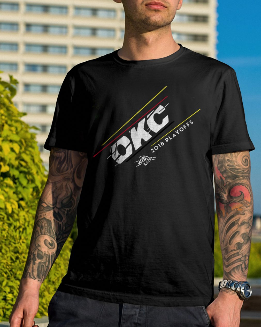 Okc 2018 Playoffs Basketball Shirt