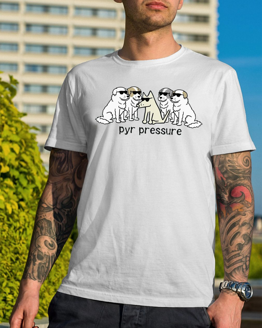 Pick of the litter Pyr pressure shirt