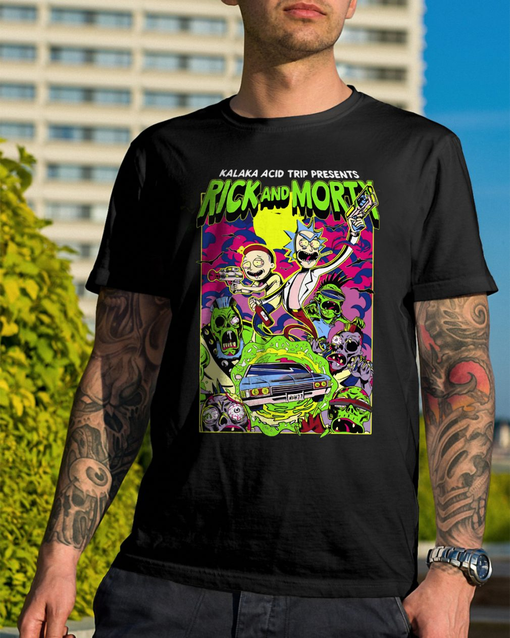Rick Morty Kalaka Acid Trip Presents Shirt