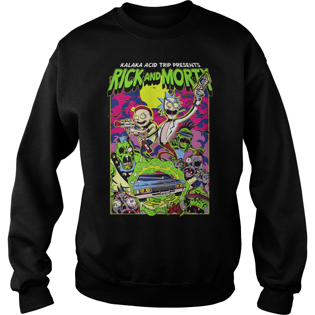 Rick Morty Kalaka Acid Trip Presents Sweater