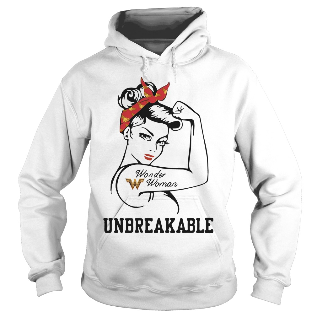 Rosie Pin Breast Cancer Wonder Woman Hoodie