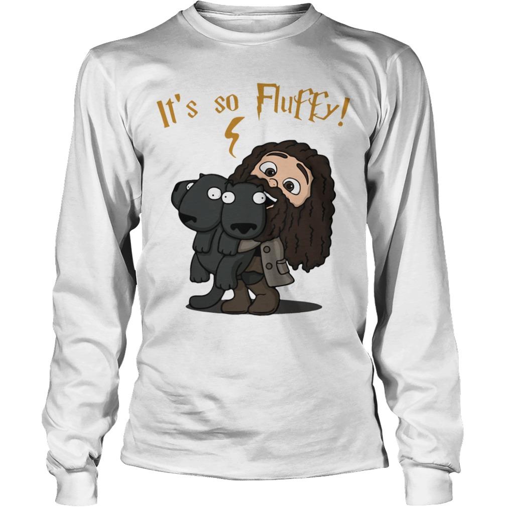 Rubeus Hagrid - It's so fluffy Longsleeve tee