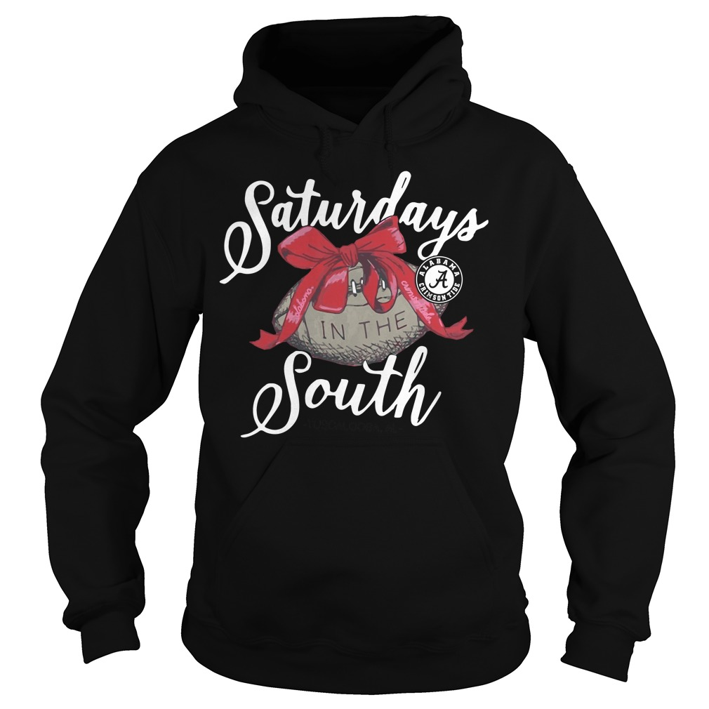 Saturdays Alabama Crimson Tide Laces Bows South Hoodie