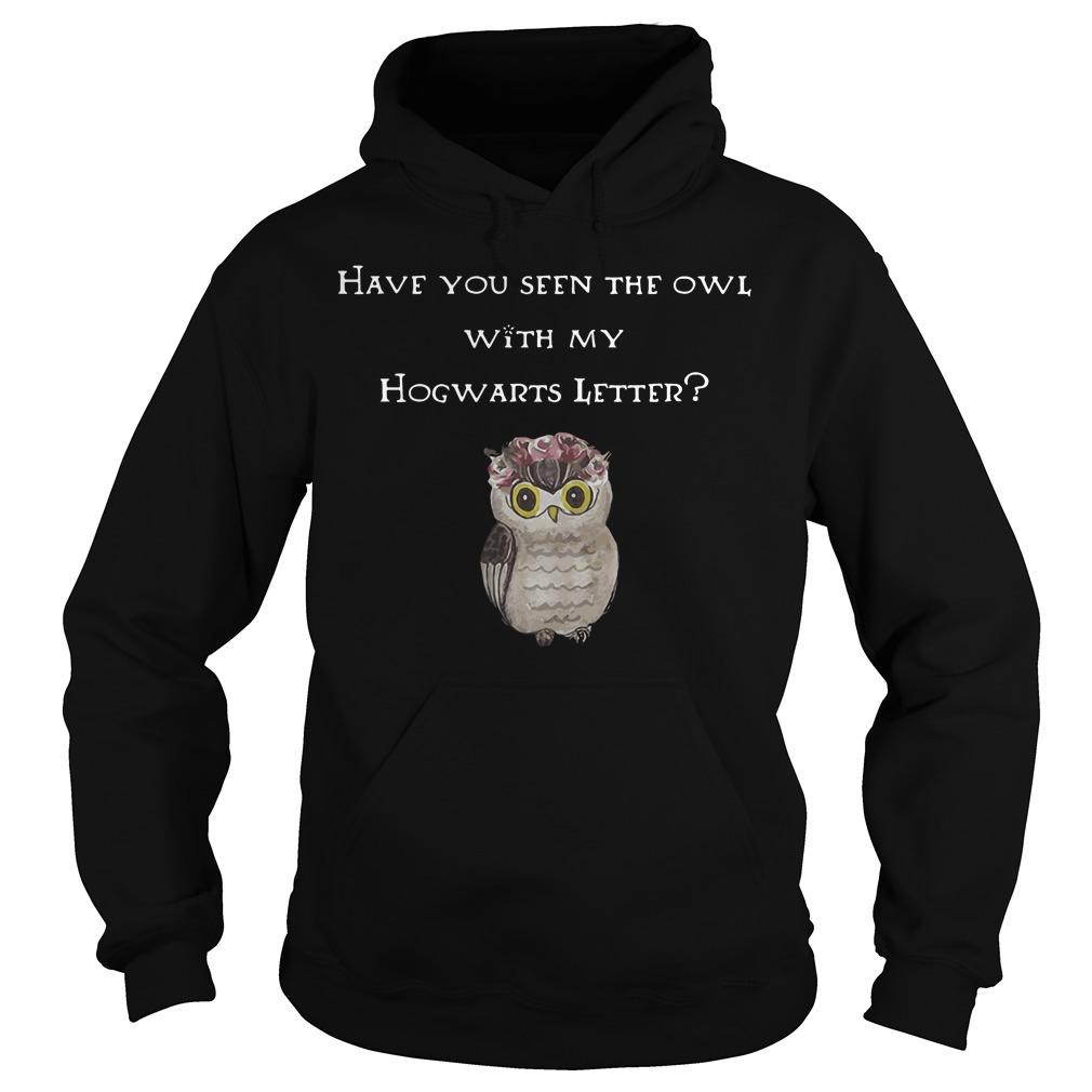 Seen Owl Hogwarts Letter Hoodie