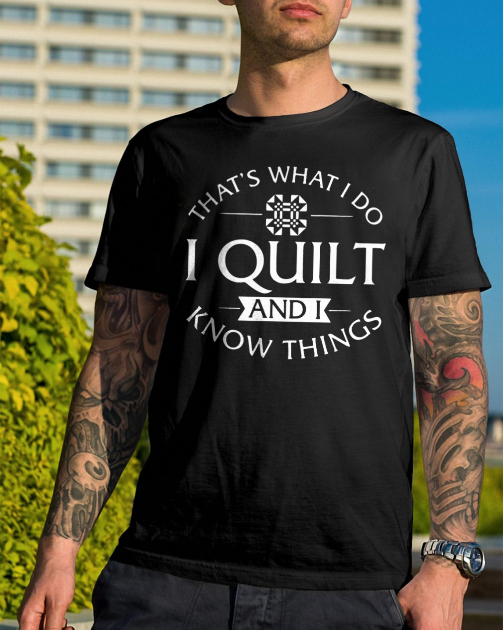 Thats Quilt Know Things Shirt