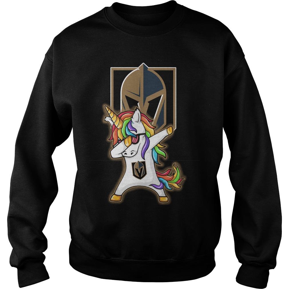 Unicorn dabbing Vegas Golden Knights Sweater
