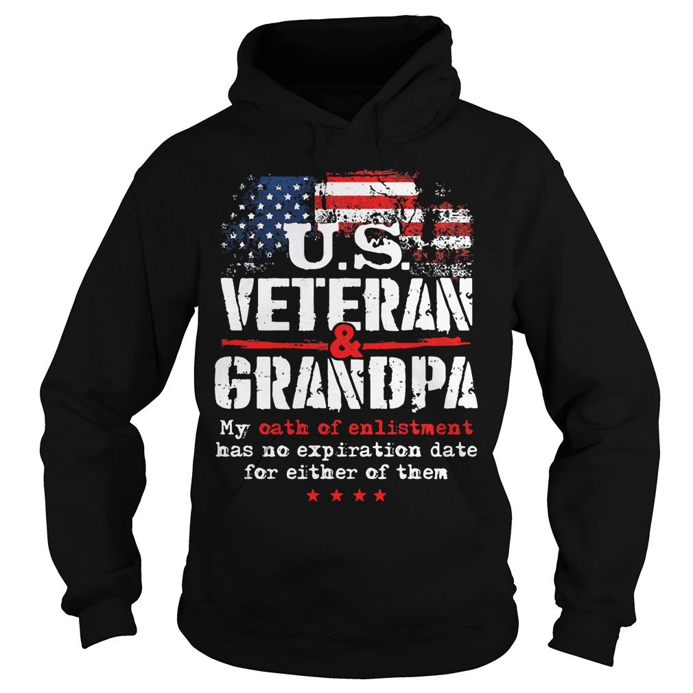 Us Veteran Grandpa Hoodie
