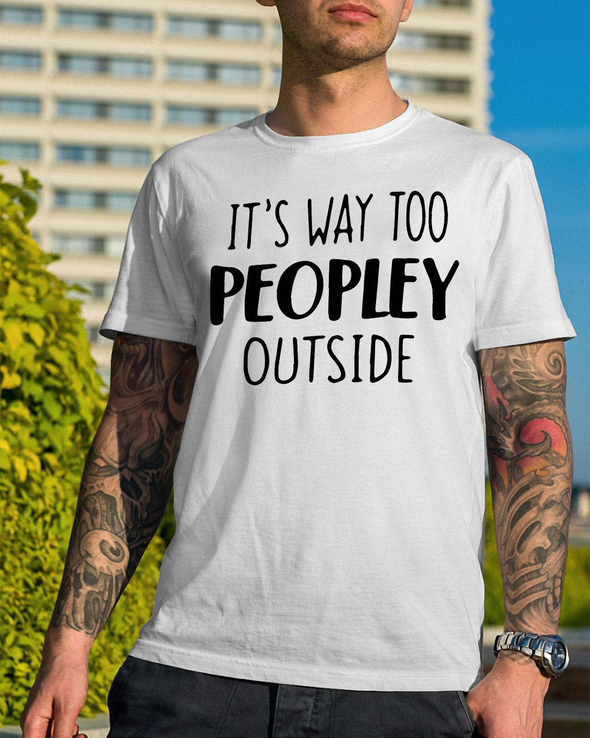 Way Peopley Outside Guys Shirt