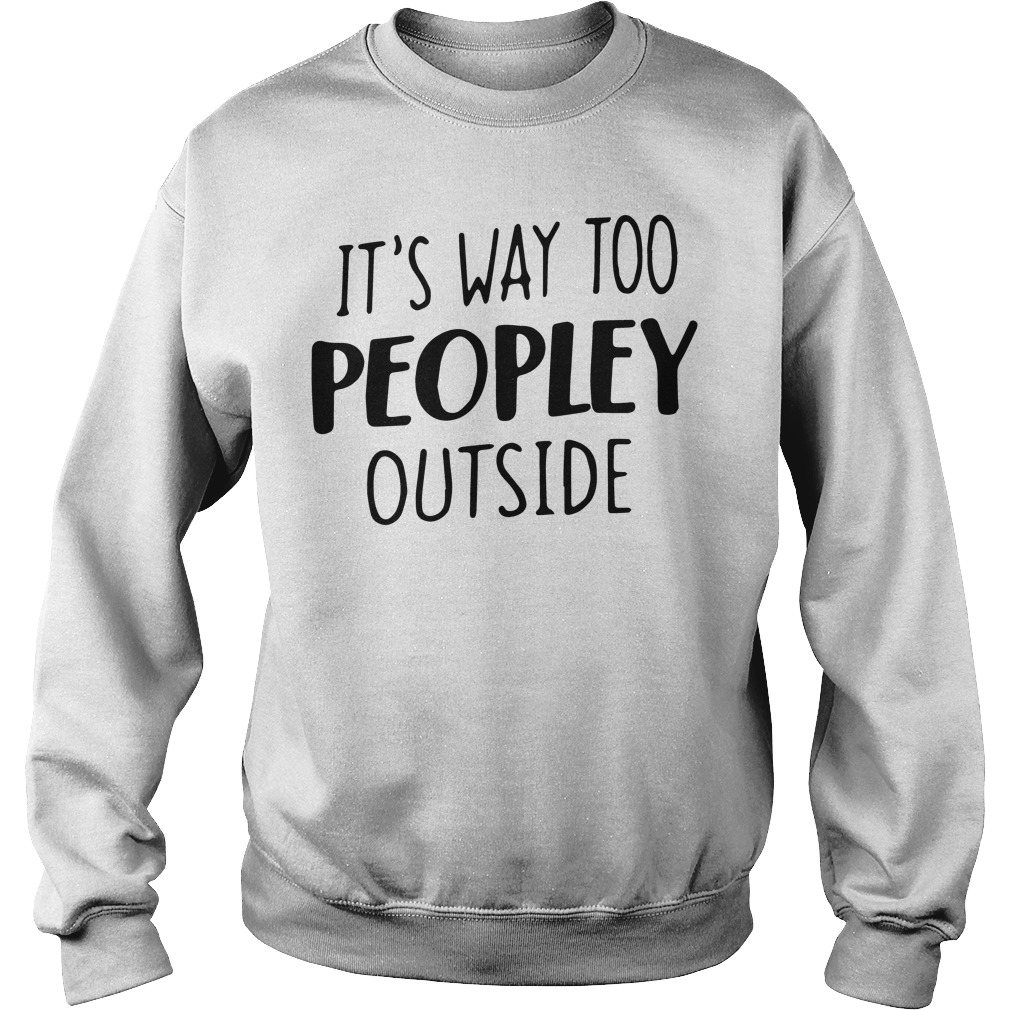 Way Peopley Outside Sweater
