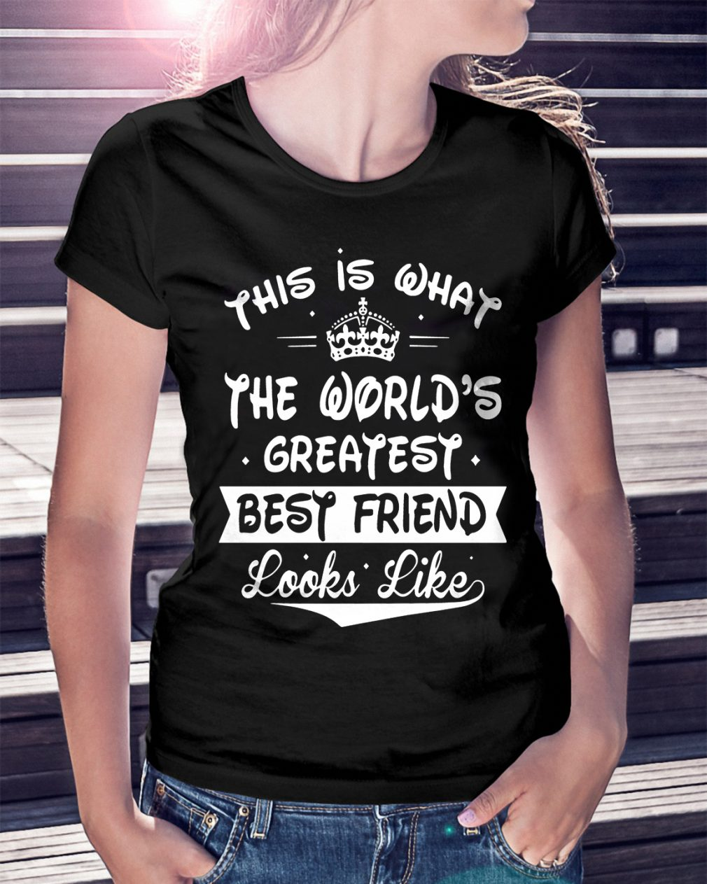 Worlds Greatest Best Friend Looks Like Shirt