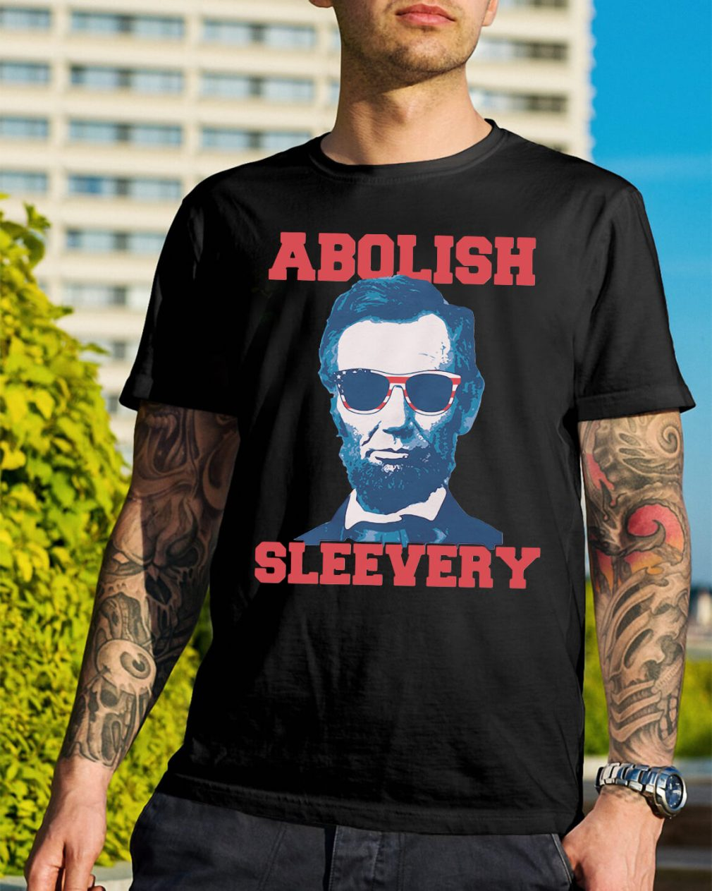 Abolish Sleevery shirt