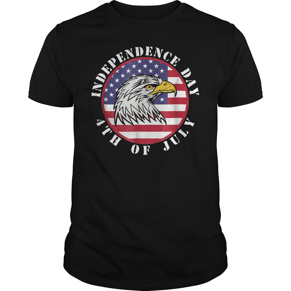 American Flag Independence day 4th of July Guys Shirt
