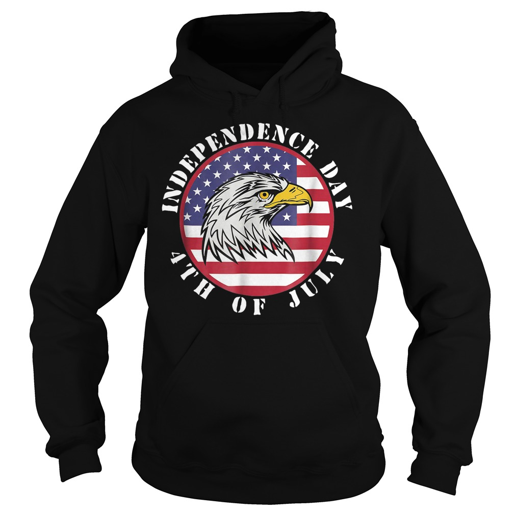 American Flag Independence day 4th of July Hoodie