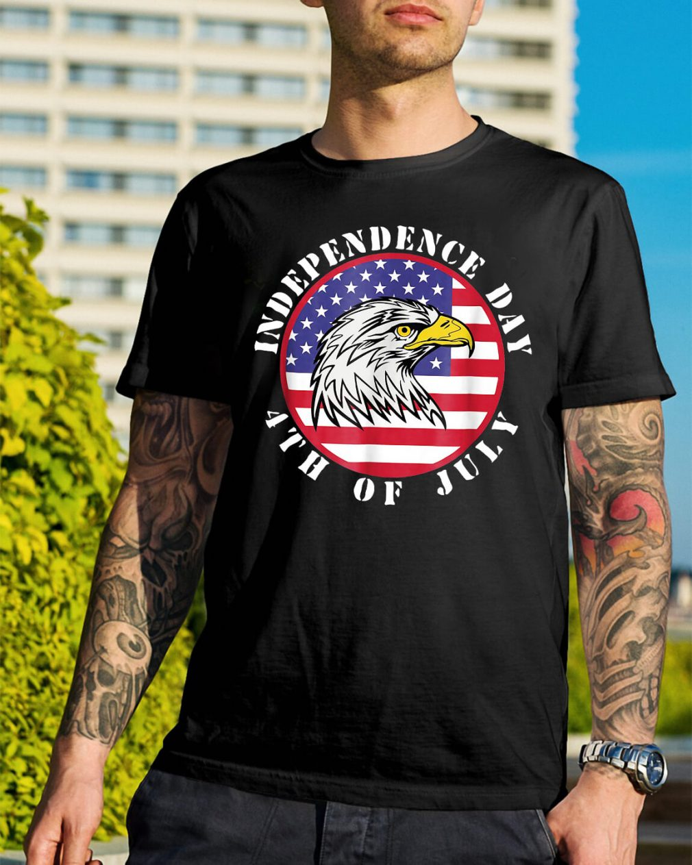 American Flag Independence day 4th of July shirt