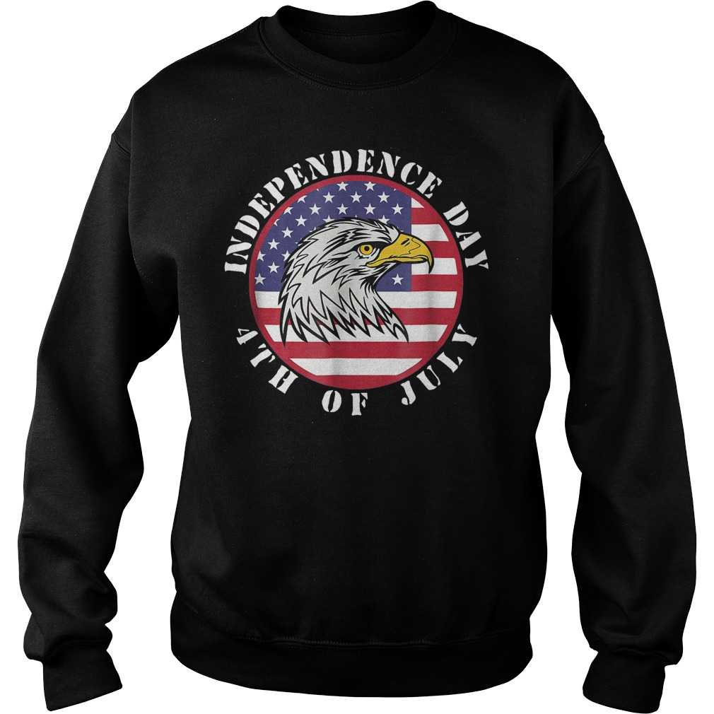 American Flag Independence day 4th of July Sweater