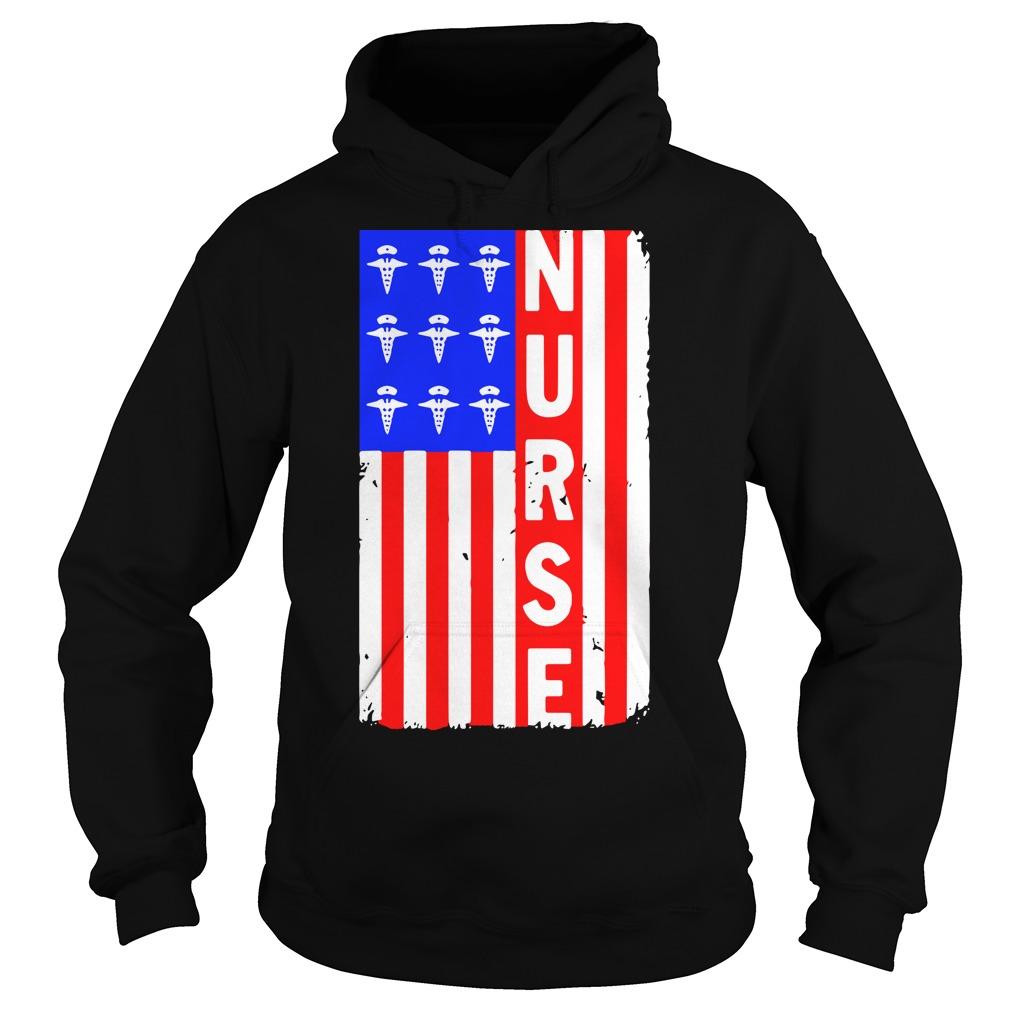 American Flag nures Hoodie