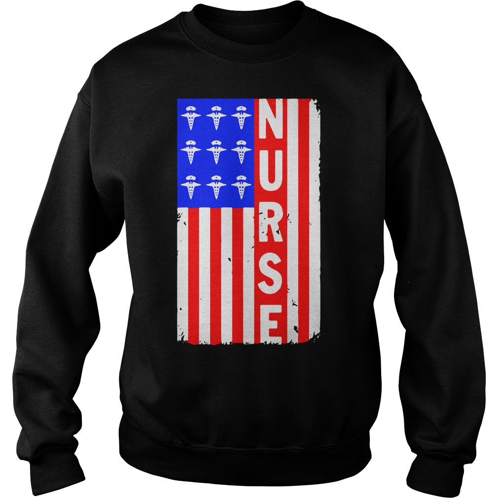 American Flag nures Sweater