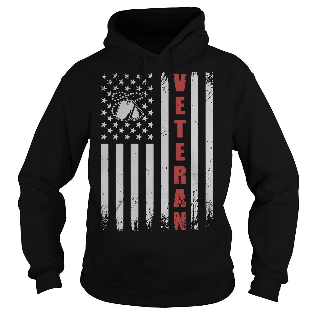 American Flag Veteran Hoodie