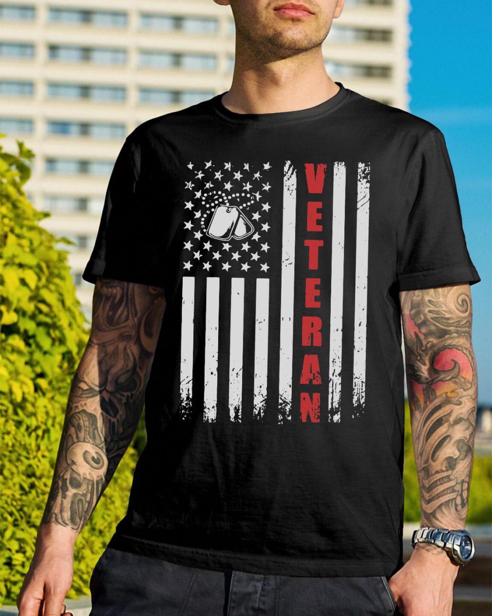 American Flag Veteran shirt