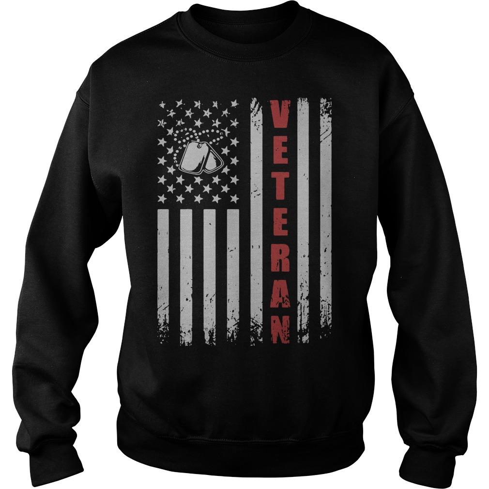 American Flag Veteran Sweater