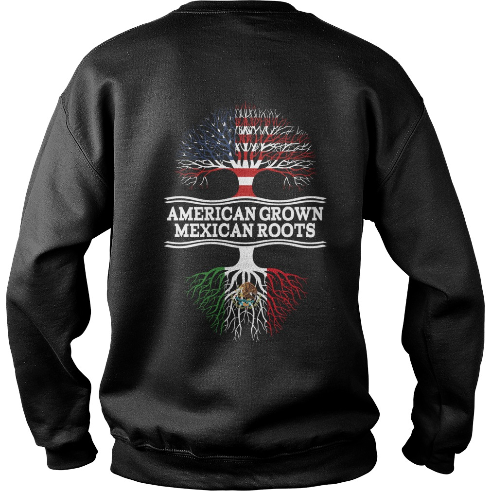 American grown Mexican roots Sweater