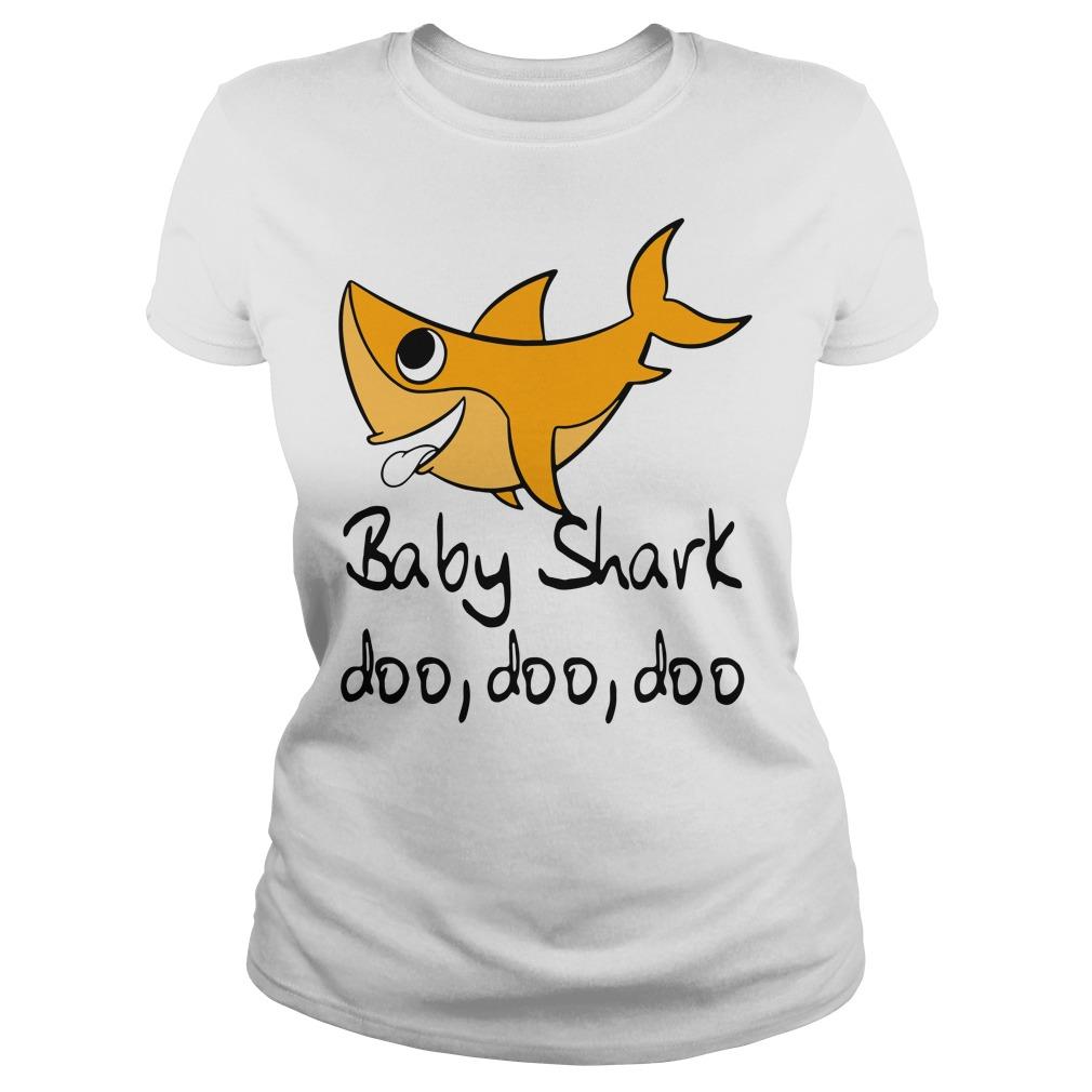 Baby shark doo doo doo Ladies Tee