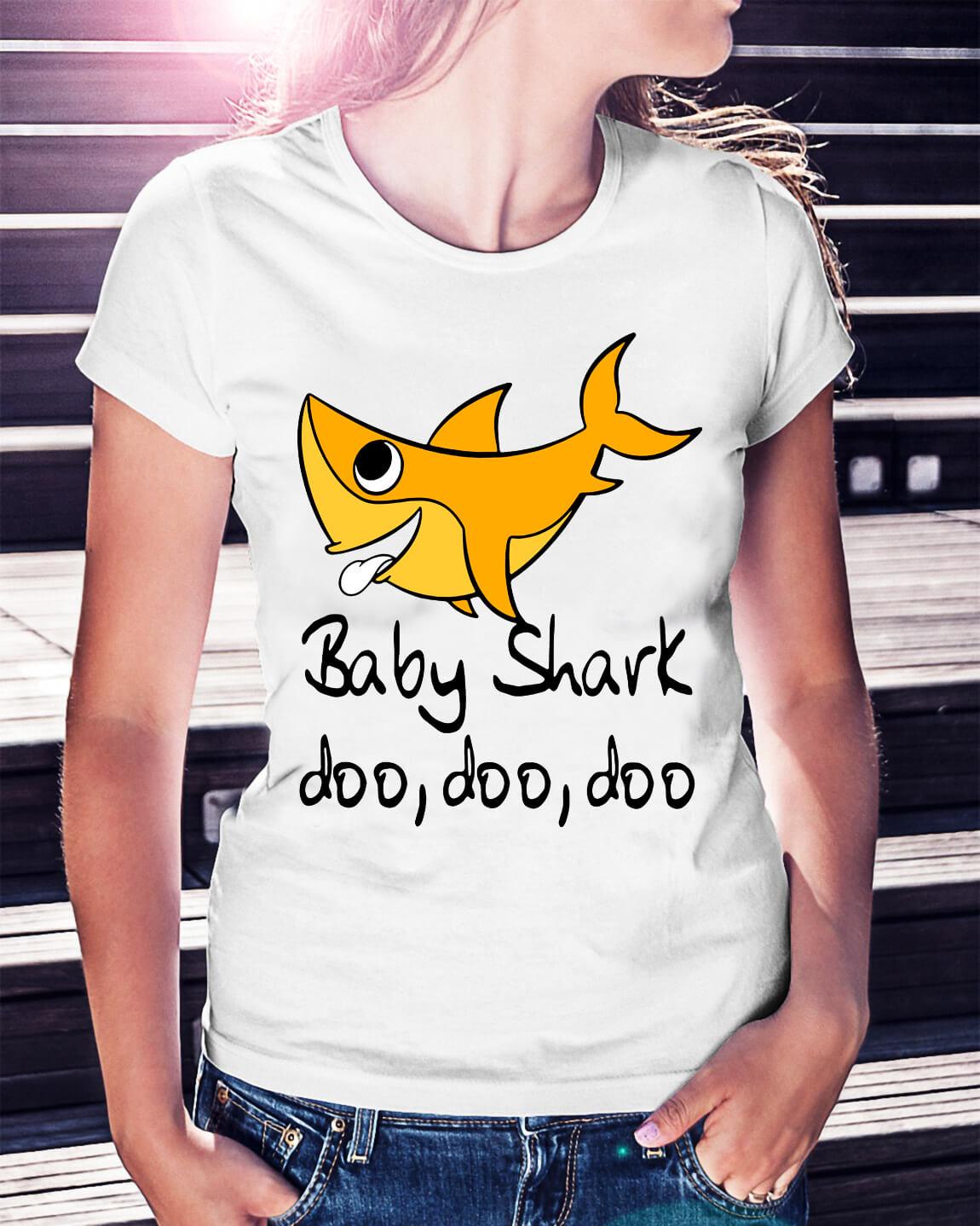 5f3775d59 Baby shark doo doo doo shirt