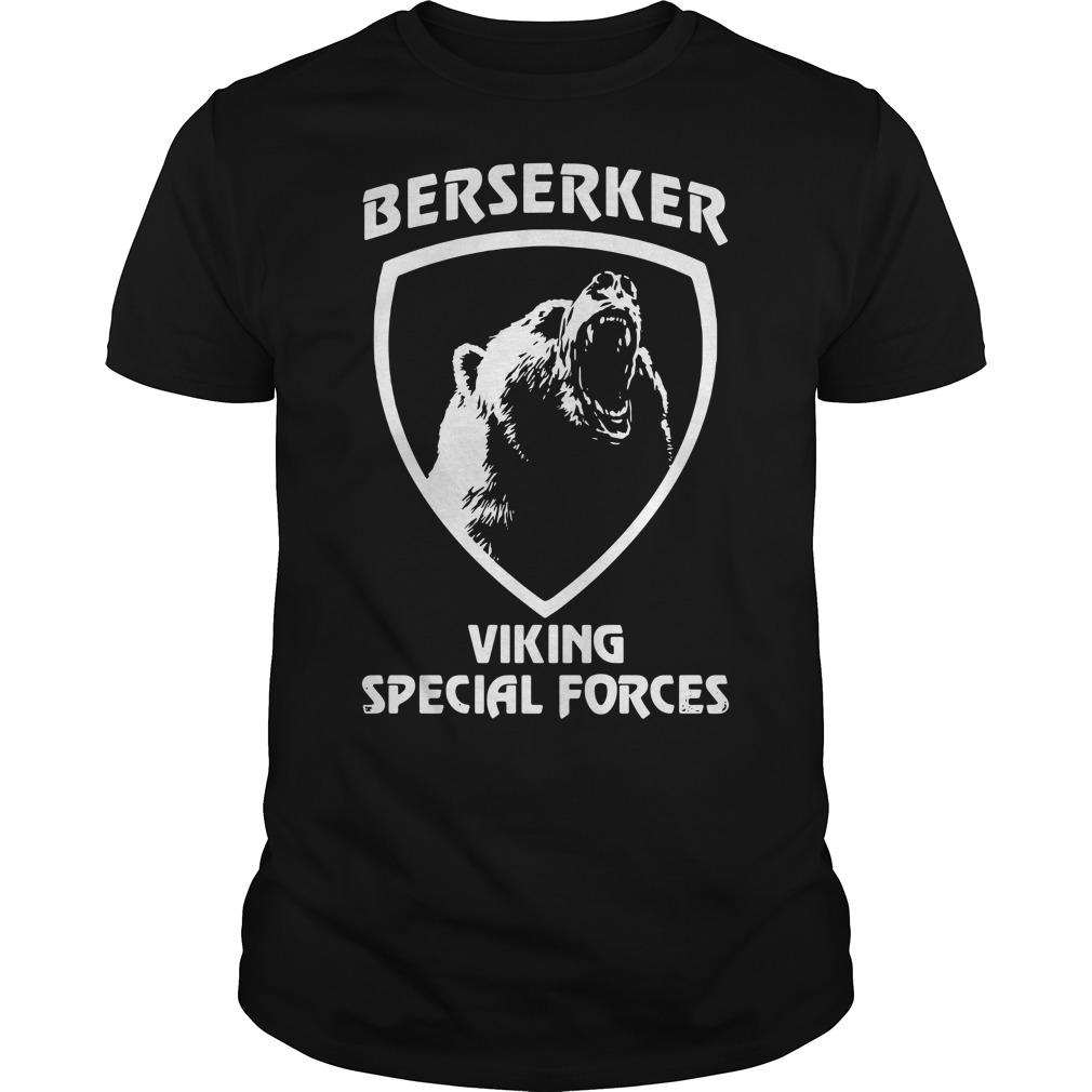 Berserker viking special forces Guys Shirt