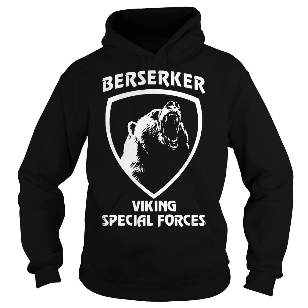 Berserker viking special forces Hoodie