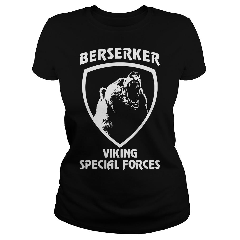 Berserker viking special forces Ladies Tee