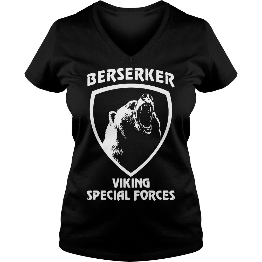 Berserker viking special forces V-neck T-shirt